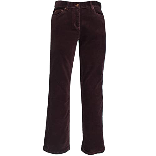 17f31028dd607 Edge New Ladies Womens Corduroy Trousers Pants Stretch Bootcut Straight  Flared Cotton