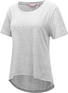 75d6a3772af Regna X Short Sleeve Round Neck Cotton Tri-Blend Summer T-Shirt Top (