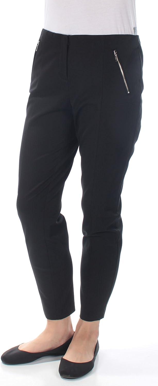 Alfani Womens ZipPocket Casual Trousers