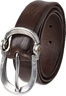 John Varvatos Leather Belts for Men Dress Casual for Jeans