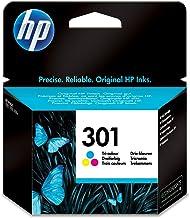 HP CH562EE 301 Original Ink Cartridge, Tri-color, Single Pack