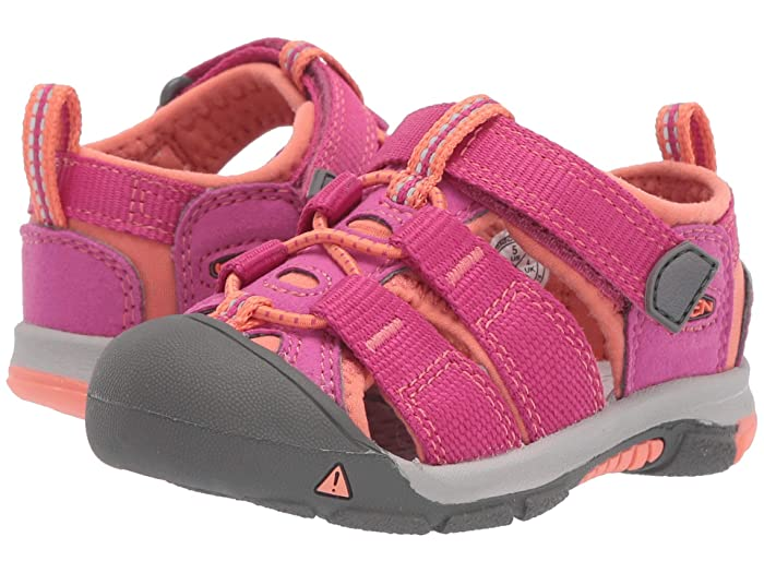 Keen Kids  Newport H2 (Toddler) (Very Berry/Fusion Coral) Kids Shoes