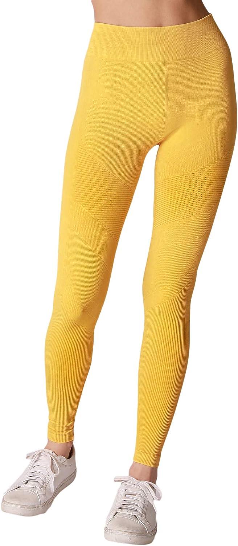 NIKIBIKI Women Seamless Premium Vintage Moto Leggings, One Size