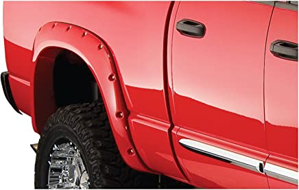 Bushwacker 50018-02 Dodge Pocket Style Fender Flare - Rear Pair