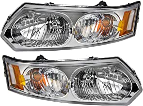 03-07 Ion 2-DOOR Coupe Headlight Headlamp Head Light Lamp Right Passenger Side R