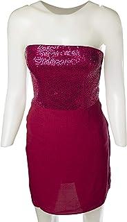 Naf Naf Special Occasion Dresse for Women, Maroon