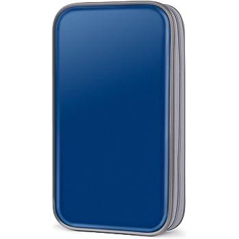 Coofit Range Cd Pochette Cd En Plastique Dur Dvd Vcd Range Cd 80 Pcs Housse Cd Classeur Cd Pochette Pour Disque Cd Boite Cd Bleu 01 Amazon Fr High Tech