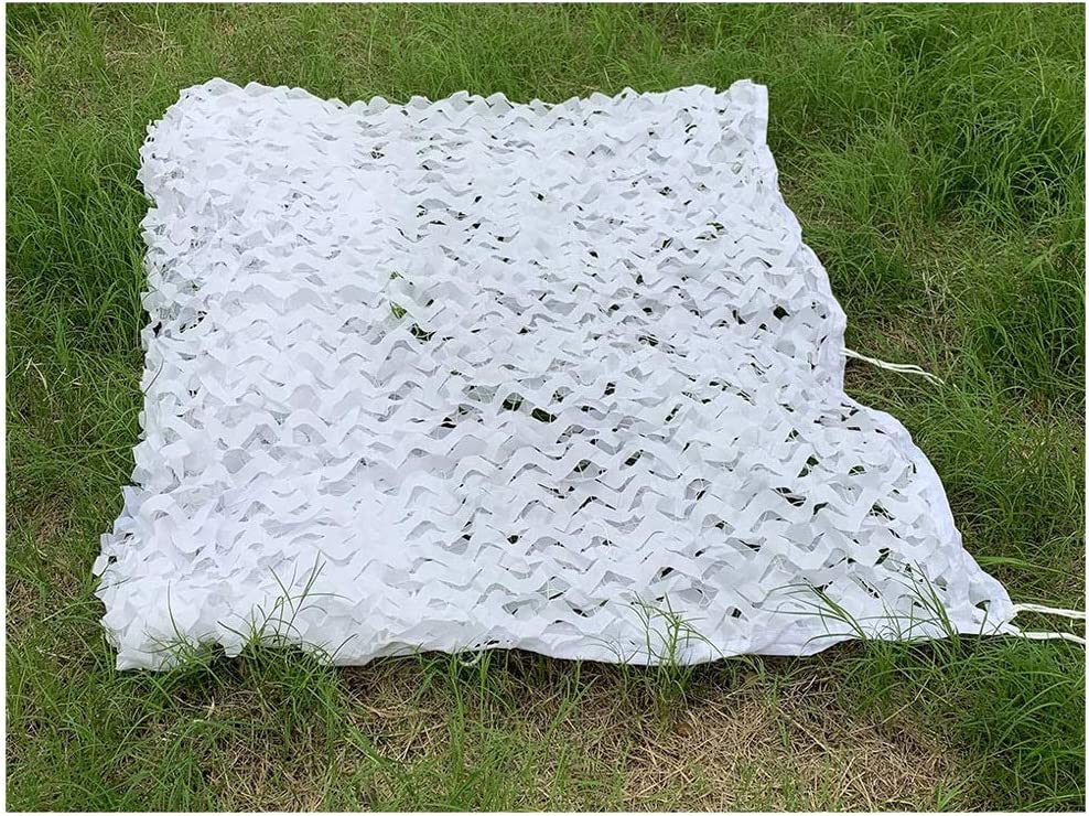 Camo Many popular brands Netting with Mesh Backing 5X6m Many popular brands 20ft X 16ft Camoufla White