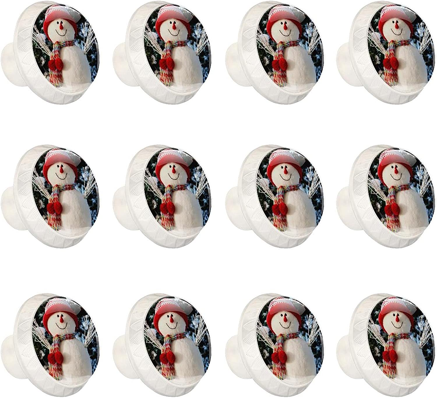 Knobs Fashionable Opening large release sale for Dresser Drawers Door Snowman DIY Cabinet W