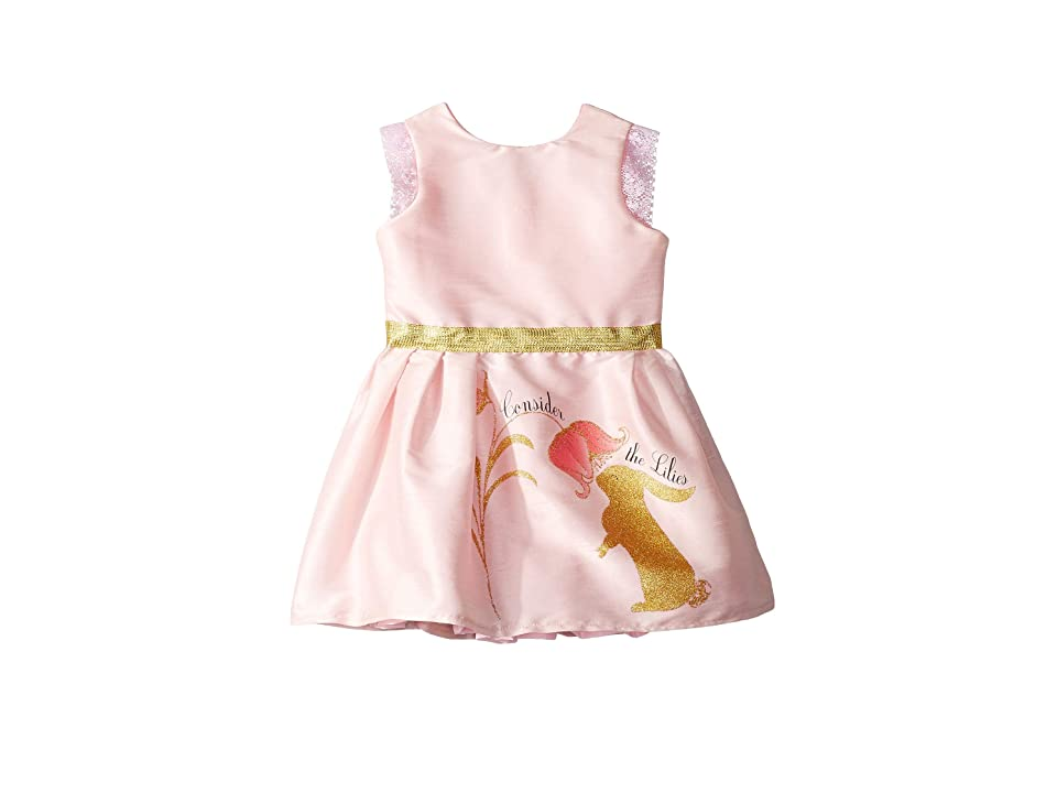 fiveloaves twofish Consider The Lilies Party Dress (Toddler/Little Kids/Big Kids) (Pink) Girl