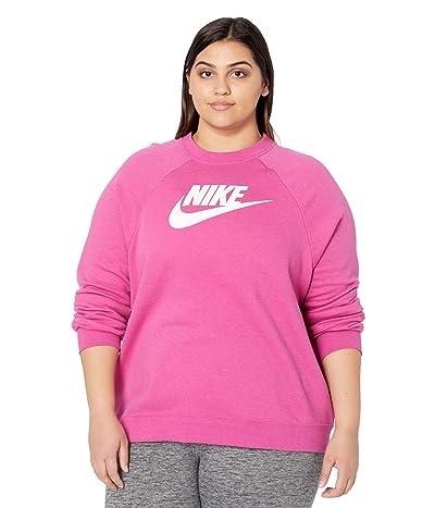 Nike Plus Size NSW Essential Crew Fleece HBR