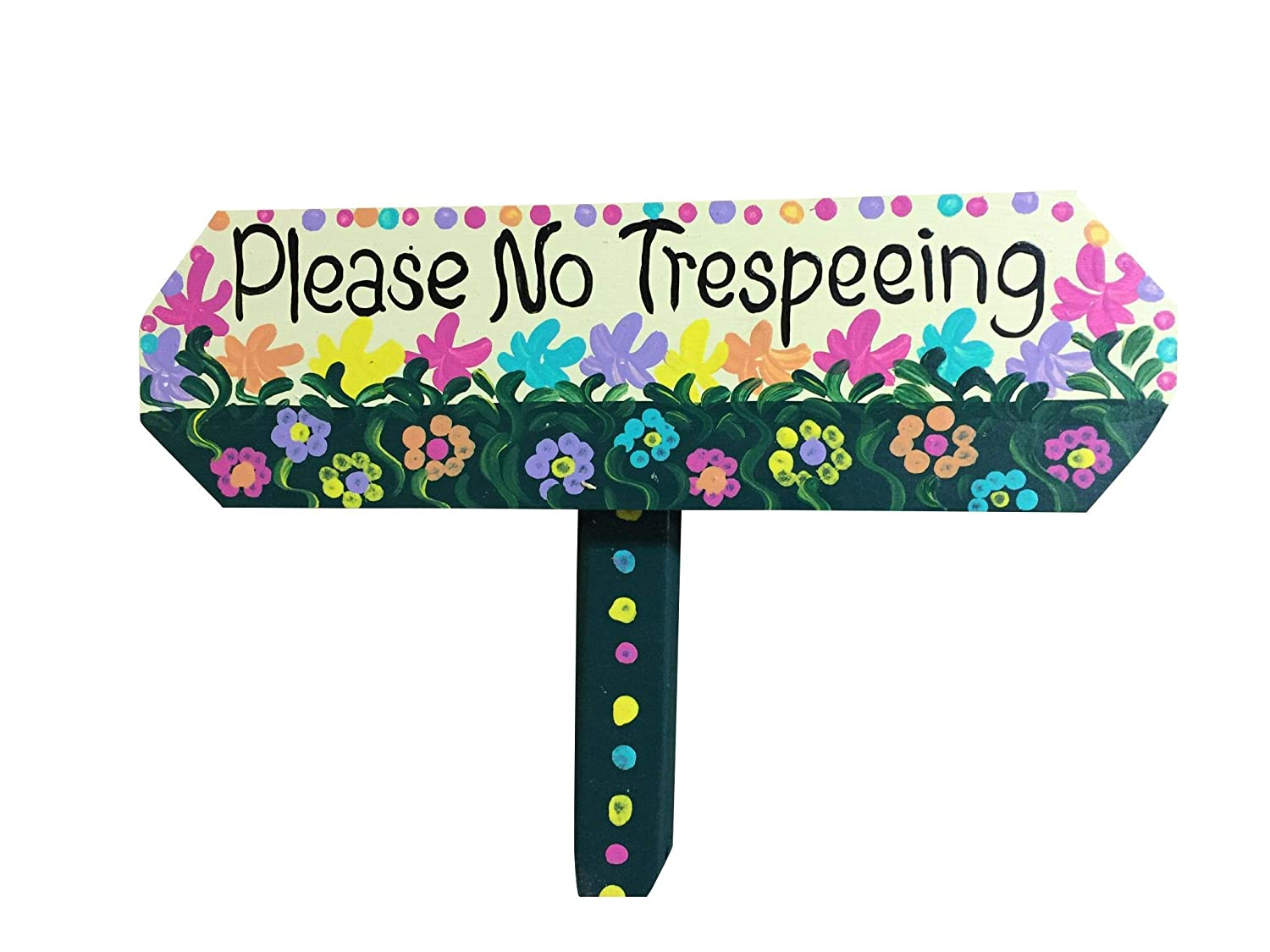 No pee sale Shipping included sign