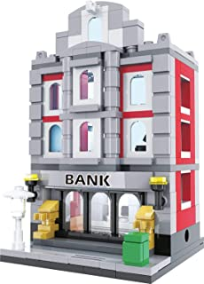 Exclusive Brick Loot Mini City Bank - Custom Designed Model - Compatible with LEGO and other Major Brick Brands - 260 Pieces!