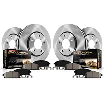 Autospecialty KOE2015 1-Click OE Replacement Brake Kit