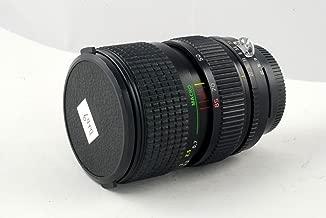 Tokina AT-X 28-85mm f/3.5-4.5 macro manual focus lens with Nikon AIS mount