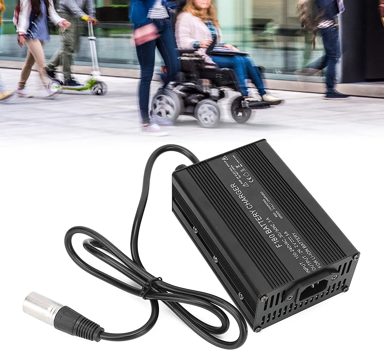 Nippon Sales regular agency Brrnoo Wheelchair Battery Charger 5A 24V C Professional