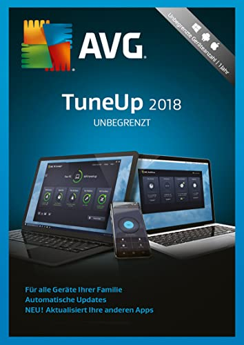 AVG TuneUp Unlimited 2018 / 24 Monate [Online Code]