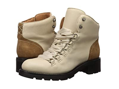 Frye Alta Hiker (Off-White Soft Full Grain/Suede) Women