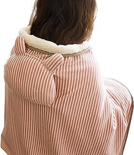 電気毛布 ひざ掛け 肩掛け 多機能 USBブランケット ハンドフットウォーマー ポータブル 柔らかい 加熱ブランケット トラベル オフィス ホーム (72 * 115 cm)