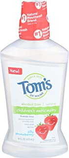 Toms of Maine, Flouride Rinse Childrens Silly Strawberry, 16 Fl Oz