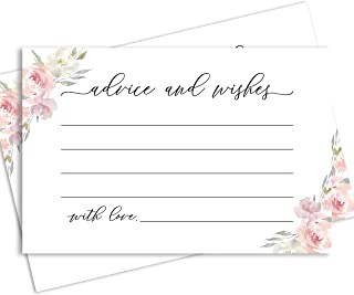 advice cards for bride to be