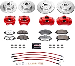 Power Stop BBK-JK-004R Front and Rear Big Brake Conversion Kit-for 2007-2019 JK/JKU