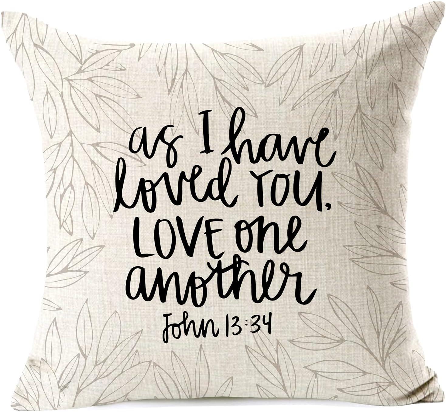 963RW Christian Love Pillowcase Home L Finally resale start Pillow ...