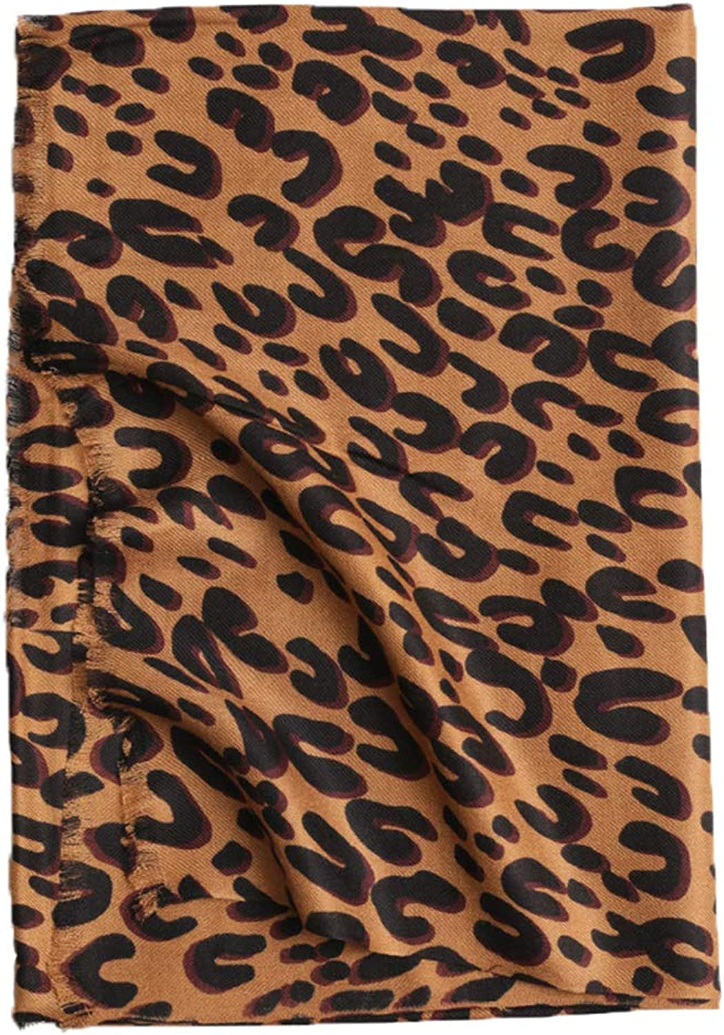 Scarf, Leopard Print Craft Warm Scarf Shawl Dualuse, Ladies Winter Warm Warm Scarf 200cm?