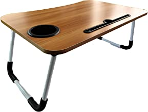 SEAFON Mesa Soporte para Laptop, Mesa para Cama (Madera)