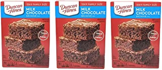 Duncan Hines Milk Chocolate Brownie Mix Thick & Fudgy 3 - 18 Oz Boxes