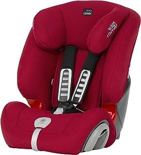 Britax Römer Evolva 1-2-3 Plus - Silla de coche, grupo 1/2/3 (9-36 kg), color Flame Red