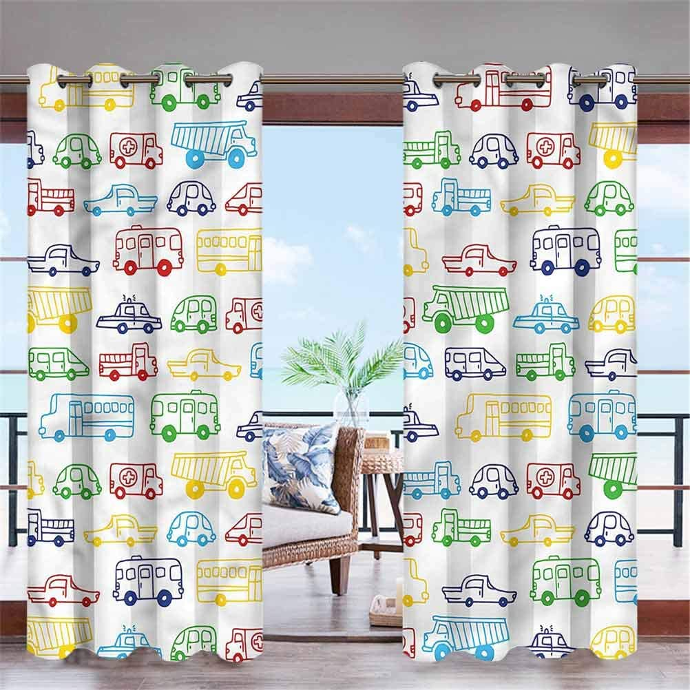 ParadiseDecor Boys Room service Home Fashions Curtain Bla Top Indefinitely Solid Ring