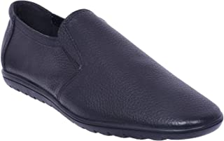 Maplewood Avon Black Loafer Shoes for Men