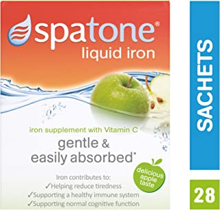 Spatone Iron Plus -Apple taste with vitamin C 28 sachets