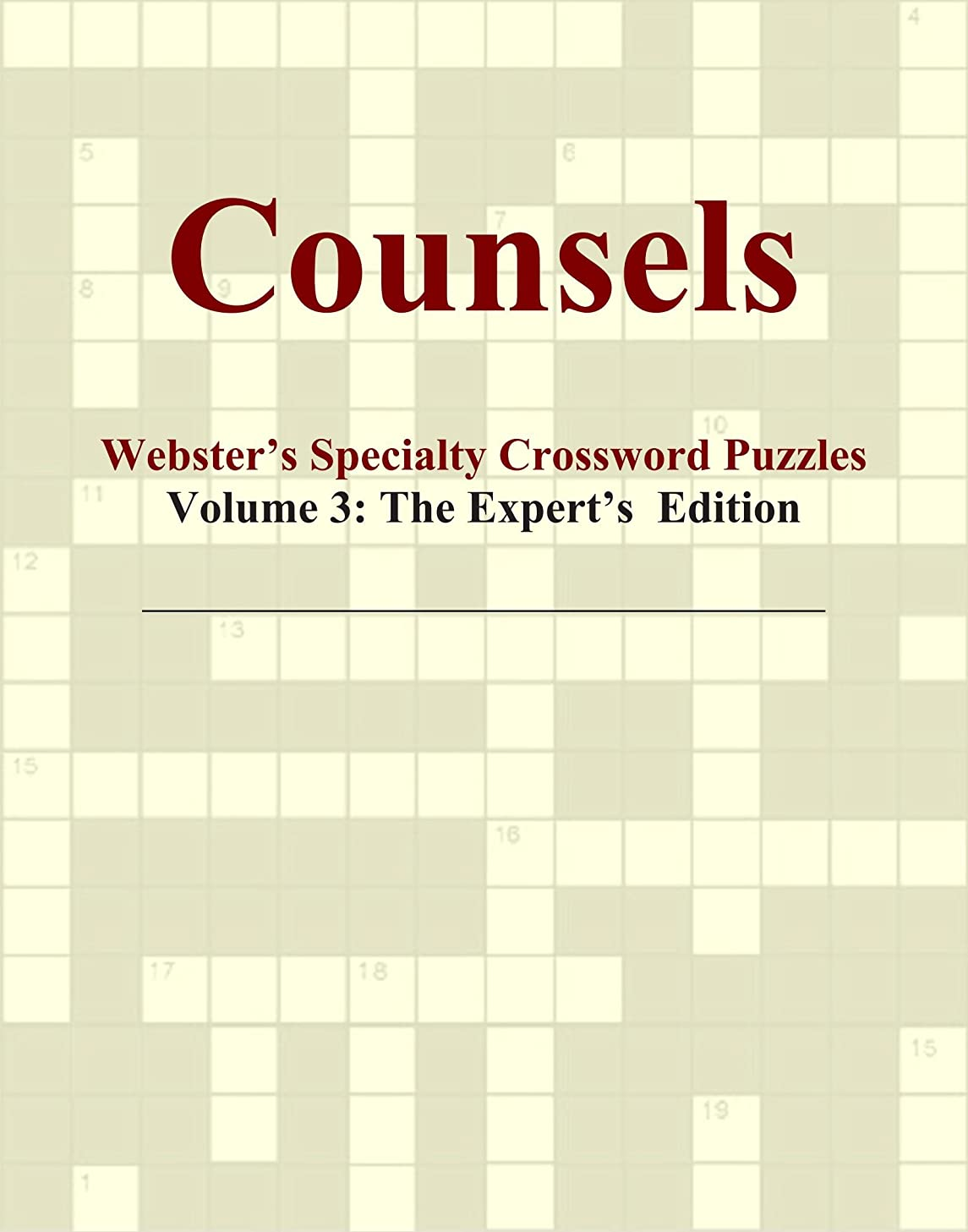第九取り組む偽善者Counsels - Webster's Specialty Crossword Puzzles, Volume 3: The Expert's Edition