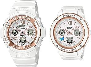 [カシオ] 腕時計 ジーショック G PRESENTS LOVER'S COLLECTION 2018 G-SHOCK × BABY-G ペア セット LOV-18A-7AJR ホワイト