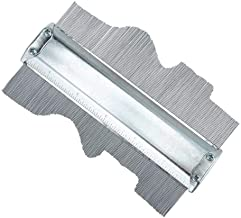 Carpenter's Irregular Contour Measurement Tool, High Definition Laser Cut Line Measurement Copy Gauges
