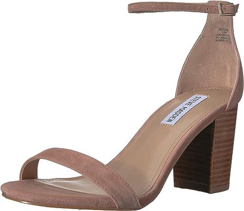 Steve Madden Woherren DECLAIRW Heeled Sandal, tan Multi, 8.5 W US