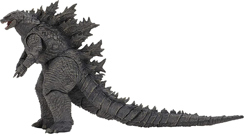 Neca , statuetta di godzilla , king of the monsters head , 30 cm 42887
