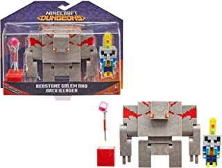 "Minecraft Dungeons 3.25"" Figures 2-Pk Battle Figures, Great for Playing, Trading, and Collecting, Action and Battle Toy fo..."