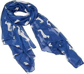 Fashion 9 Color Animal Dachshund Dog Print Scarf Pashmina Women Scarves Gift
