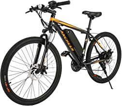 ANCHEER 2019 New 350W Electric Bike Adult Electric Mountain Bike, 26 Electric Bicycle Removable 36V 7.8Ah Lithium-Ion Battery, Professional 21 Speed Gears