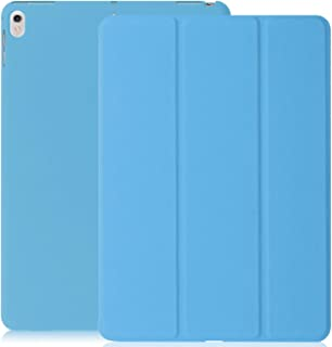 KHOMO iPad Pro 10.5 Inch & iPad Air 3 2019 Case - DUAL Blue Super Slim Cover with Rubberized back and Smart Feature