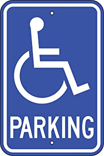 Handicapped Parking Only Signs (R-99)