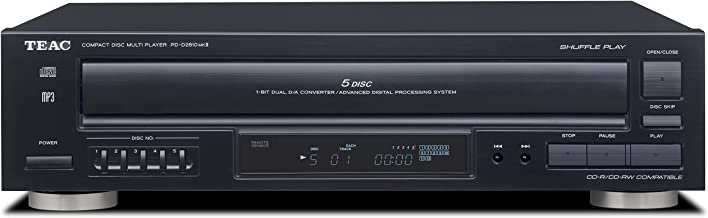 Teac PD-D2610mkII 5 Disc Carousel CD Changer with Remote (Renewed)