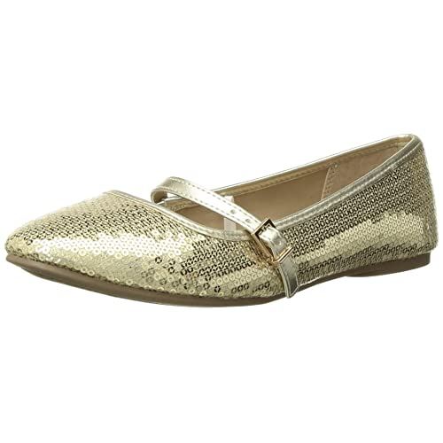 The Childrens Place Kids Tg Lace-up June Ballet Flat