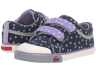 See Kai Run Kids Robyne (Toddler/Little Kid) (Navy/Purple) Girl