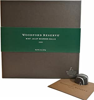 Woodford Reserve Premium Mint Julep Bourbon Ball Gift Box, 16 Candies per box, delicious and perfect for holiday gifts