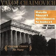 Viennese Classics for Piano: Haydn: Sonata No. 30, Hob. XVI:19 – Mozart: Rondo, K. 485, Sonata No. 12, K. 332 – Beethoven: Rondo, Op. 51, No. 1, Sonata No. 5, Op. 10, No. 1 – Schubert: Sonata No. 13, D. 664