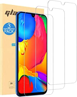 CASEON Screen Protectors for Galaxy M31 Tempered Glass Film, 3-Pack HD Crystal Clear